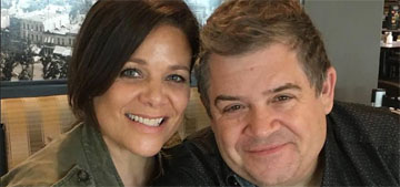 Meredith Salenger to Patton Oswalt on their big fight: I was wronged, you don't remember