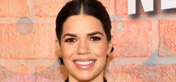 America Ferrera had to stop watching the news because it was keeping her up at night