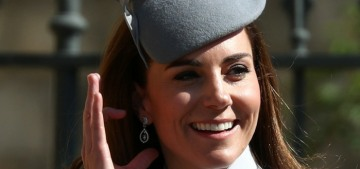 Duchess Kate is cutting her kids' hair in lockdown & doing her own dye jobs
