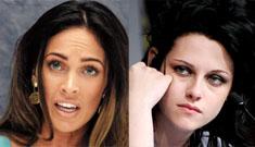 Kristen Stewart throws jealous temper tantrum over Megan Fox