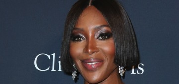 Naomi Campbell wore lipstick everyday in quarantine, even while working out
