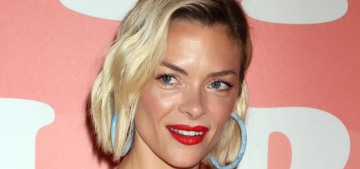 Jaime King is 'leaning on friends' & 'doing a lot of yoga & meditation'