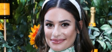 Wow, Lea Michele gave an 'apology' statement to People Mag & it's terrible