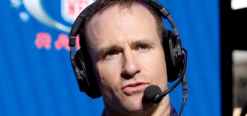 Drew Brees on Kap's protests: 'I will never agree with anybody disrespecting the flag'