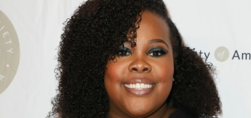 Amber Riley splits hairs: 'I'm not going to say that Lea Michele is racist'