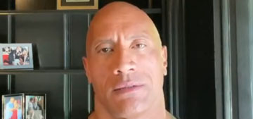 The Rock: 'There is military force that has been deployed on our own people'