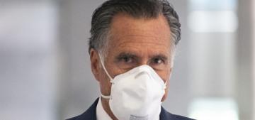 Sen. Mitt Romney joins evangelicals at the DC protest, says 'Black Lives Matter'