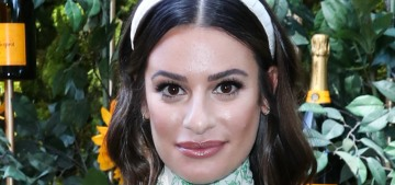 Lea Michele was toxic with beauty industry people when she had a L'Oreal contract
