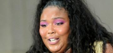 """""""Lizzo works out and isn't trying to fit in with your body ideals"""" links"""