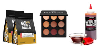 Hot sauce for Father's Day, a versatile eyeshadow palette and sports bras
