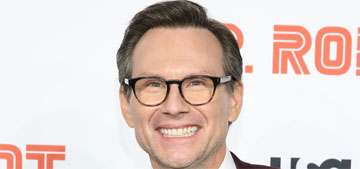Christian Slater says he would be in Rikers now if he wasn't a white guy