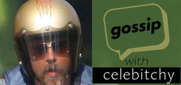 'Gossip with Celebitchy' podcast #55: Brad Pitt on a bike, hot or not?