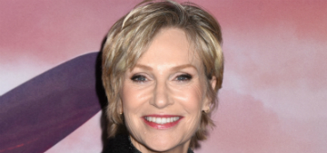 Jane Lynch adopts senior dogs: the minute we get them, they usually need healthcare