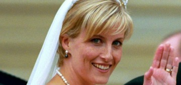 Here's a flashback to the Earl & Countess of Wessex's 1999 wedding