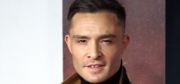 Ed Westwick got 'backlash' for a social media stunt, not for his many alleged rapes