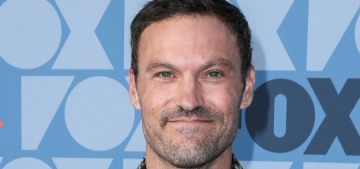 Newly separated Brian Austin Green went out to lunch with Courtney Stodden