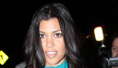 "Kourtney Kardashian thinks pregnancy will ""raise her profile"""