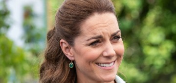 Duchess Kate bought herbs at her first public event in three months