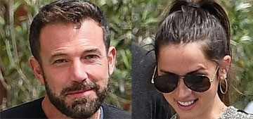 Ben Affleck and Ana de Armas went for lunch together, inside