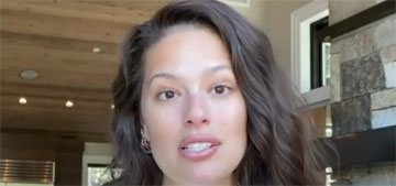 Ashley Graham broke off her front tooth biting into a frozen cookie