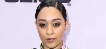 Tia Mowry hid in the bathroom from her family and drank wine