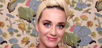 Katy Perry says she and Orlando haven't decided on a baby name: 'she'll tell us'