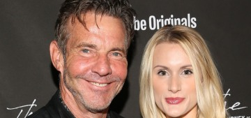 Dennis Quaid, 66, eloped with Laura Savoie, 27, with only the pastor as a witness