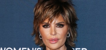 Lisa Rinna claims a flock of Karens complained to QVC about Rinna's liberal politics
