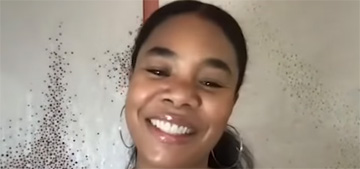 Regina Hall on Facetiming her mom: I see her chin and ceiling regularly