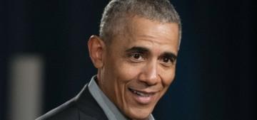 Barack Obama rage-texts about politics until 2 am, then rage-Pelotons at 8 am