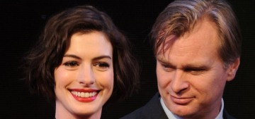 Anne Hathaway: Christopher Nolan 'doesn't allow chairs' on his sets