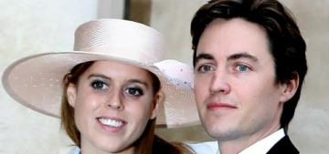 Princess Beatrice is thinking about permanently relocating to Italy with fiance Edo