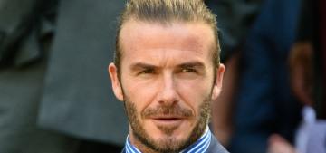 """David Beckham would have been enjoying Wimbledon this week, sob"" links"