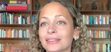 Nicole Richie watches horror movies with her tweens, but only during the day