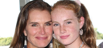 Brooke Shields tracks her daughters: 'If they turn it off I will make their life miserable'