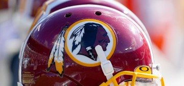 The Washington NFL team will no longer use a racist slur for their team name