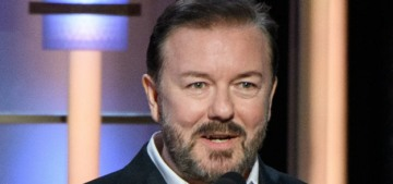 Ricky Gervais: On social media, 'if you're mildly conservative, you're Hitler'