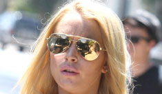 Lindsay Lohan's neighbors want the crackheads out
