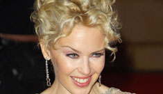 Kylie Minogue at the premiere of her new documentary