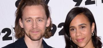 Tom Hiddleston & Zawe Ashton are living together in Atlanta right now??