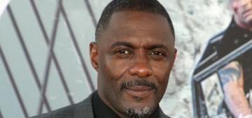 Idris Elba thinks we should put 'warning labels' on racist art rather than censor it