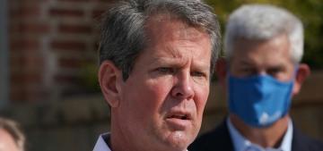 Georgia Gov. Brian Kemp bans cities & counties from mandating masks
