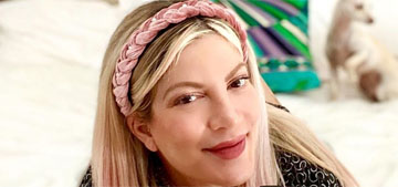 Tori Spelling had money seized from her bank account, again, for nonpayment of debts