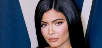 Kylie Jenner's two-year-old daughter Stormi has a $1200 Louis Vuitton purse