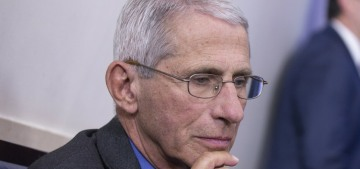 Dr. Anthony Fauci will throw out the first pitch at MLB's opening day