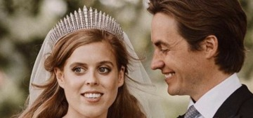 Princess Beatrice's choice to alter the Queen's old dress was a last-minute thing