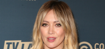 Hilary Duff says her son Luca, 8, can decide whether to go back to school