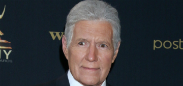 Alex Trebek on his wife of 30 years: 'she's keeping me alive'