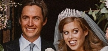 Princess Beatrice's reception involved 30 guests & music from an iPhone
