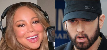 US: Eminem 'knows that Mariah is going to say negative things about him' in her book